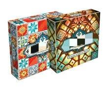Inglês versão cartões jogo azul tijolo mestre jogo de tabuleiro