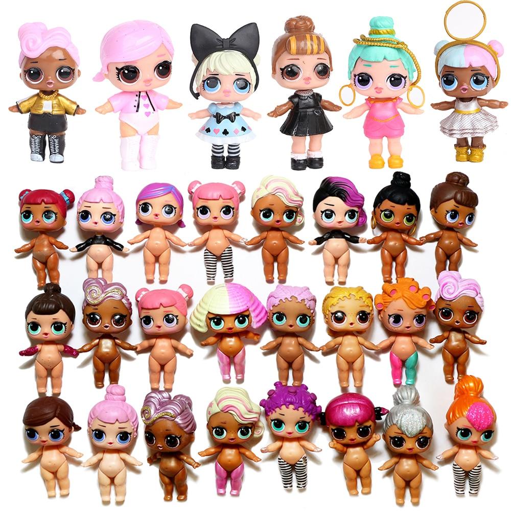 Lols Surprise Dolls Series Dolls Toy Baby MGA Boneca LOLS Original Doll Ball Bebek Action Figure Toys Kids Gift Toys For Girls