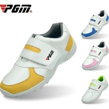 PGM/детская обувь для гольфа для мальчиков и девочек; Разноцветные удобные дышащие туфли на выбор; размер 30-36