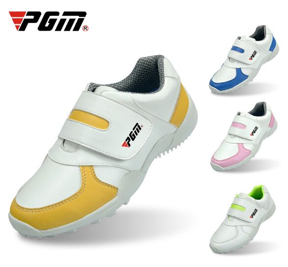 PGM Children's Golf Shoes Boys And Girls Multi-color Optional Comfortable Breathable Look Size 30-36