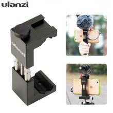 Ulanzi ST 02 Mobiele Telefoon Statief W Hot Schoen Compatibel Aputure AL M9/Boya BY MM1 Microfoon Voor Youtube Vlog Video maker