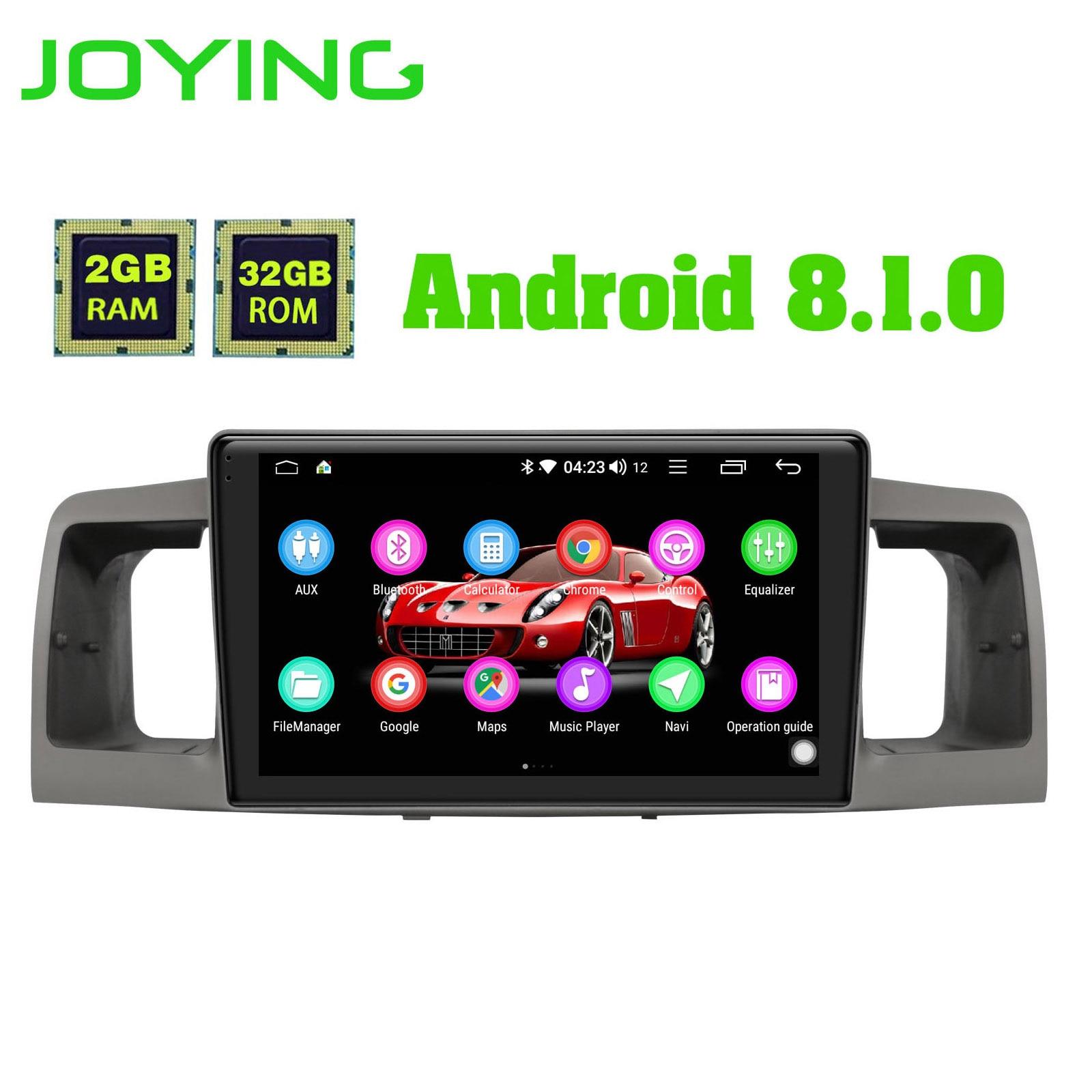 2G RAM 32G ROM 1 Din 7851 GPS Navigation for Toyota Corolla EX E120 2003 2011