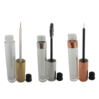200ps/lot 6ml Clear Empty Mascara Container Bottle Tube With Brush Lipgloss Eyeliner Makeup Container refillable Bottle