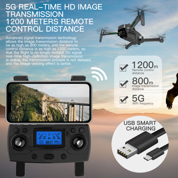 ZLL SG906 MAX Pro 2 GPS Drone 4K HD Camera Laser Obstacle Avoidance 3-Axis Gimbal WiFi FPV Professional RC Quadcopter Dron 5