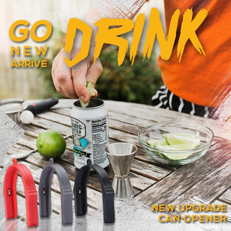 Mintiml™ Go Drink Can Opener Lid Remover Universal Topless Can Opener Beer Top Remover Party Outdoor Fishing Kitchen Accessories 1