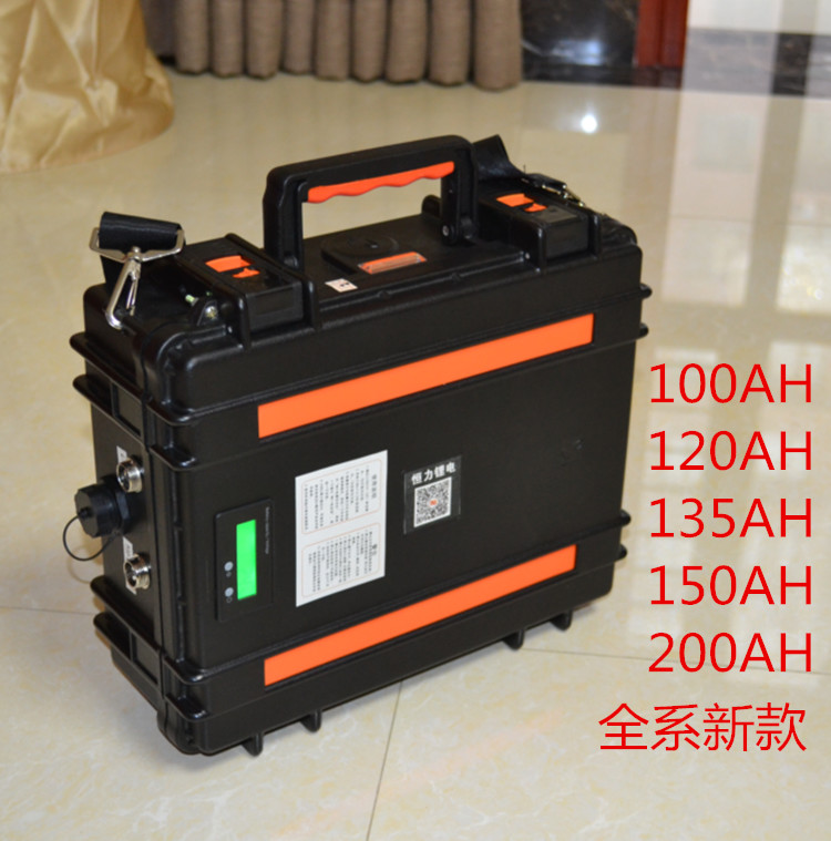 Buy Multifunctional 12V 300AH-100AH Lithium ion Li-ion USB Battery for motor homes/motors/solar panel/outdoor emergency Power source for only 700 USD