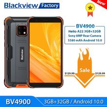 Blackview BV4900 Smartphone 3GB + 32GB Android 10 IP68 wodoodporny telefon komórkowy 5580mAh 5 7 #8221 NFC 4G LTE wytrzymały telefon komórkowy tanie tanio Nie odpinany CN (pochodzenie) Rozpoznawania twarzy Inne Nonsupport Smartfony Bluetooth 5 0 Pojemnościowy ekran english