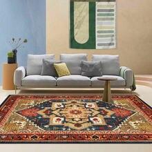 Модный Европейский стиль ретро Национальный коврик с геометрическим