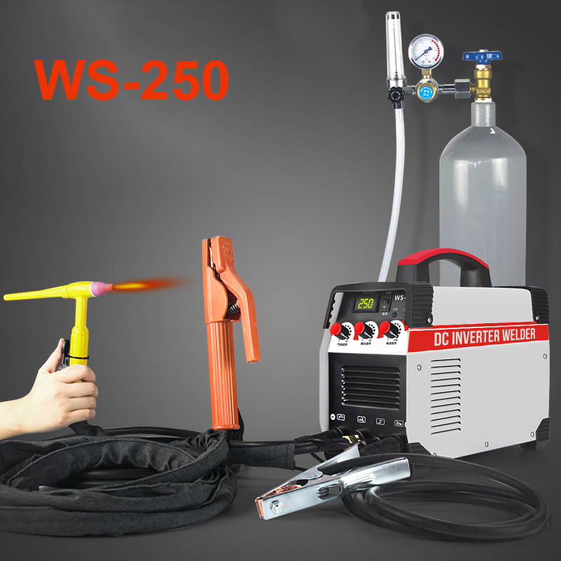 2In1 ARC TIG IGBT Inverter Arc Electric Welding Machine 220V 250A MMA Welders Power Tools