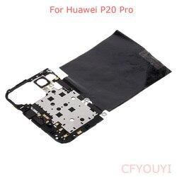 Per Huawei P20 Pro Telaio Posteriore Borsette Copertura Sulla Scheda Madre Auricolare NFC Antenna