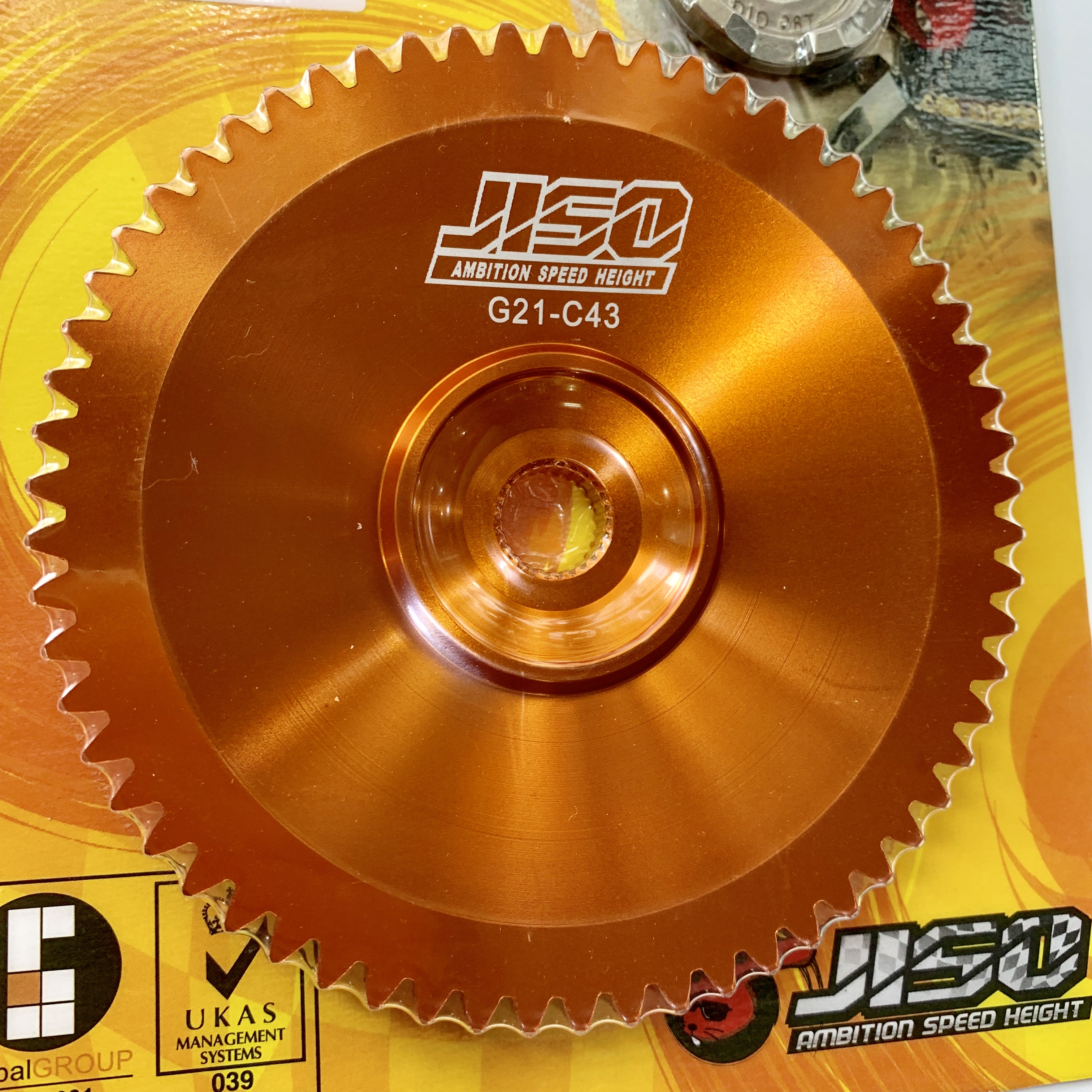 DIO50 Variator Pulley Plate JISO Teflon Racing Cap For Variator Tuning Upgrade Taiwanese Rrgs Top Quality Dio 50