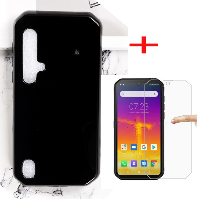 """For Blackview BV9900 Pro CASE Blackview BV9900 Tempered Glass Film 5.84"""" Silicone Soft Tpu Back Cover Phone Cases cover(China)"""