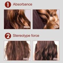 Новые волосы эластина, сохраняя кудри стереотипы Волос Стайлинг эластина элемент аромат спа SCI88
