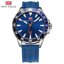 MINI FOCUS Sport Watch Men Waterproof Mens Wristwatch Quartz Watches Men Luxury Brand Silicone Strap Relogio Masculino Clock Man