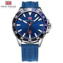 ミニフォーカススポーツ腕時計メンズ防水メンズ腕時計クォーツ時計男性高級ブランドのシリコーンストラップレロジオmasculino時計男