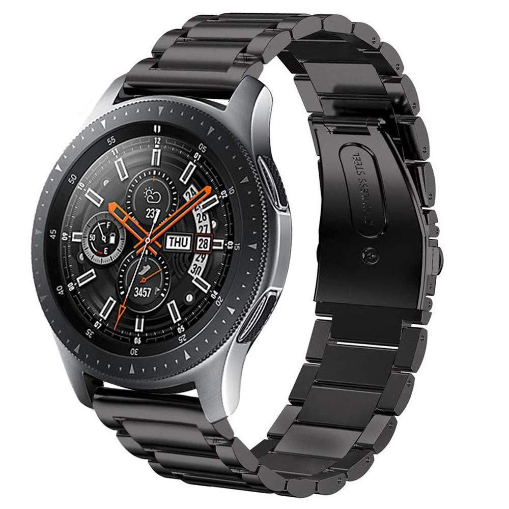 Ремешок из нержавеющей стали для Samsung Galaxy watch 3, браслет для Gear S3 Frontier 46 22 мм Huawei watch GT/2/2e/pro, 45 мм/46 мм