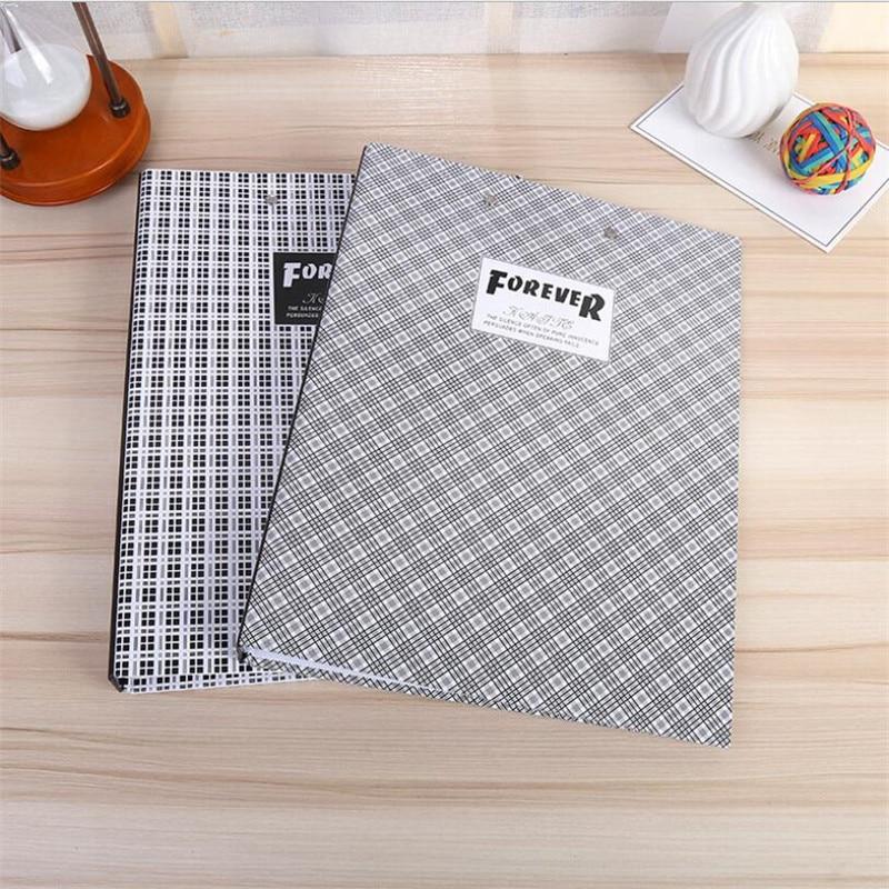 Random Office Cardboard Folder Double Long Strong + Board Folder Multi-Function Folder
