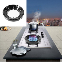 Gas Stove Energy Saving Fire Cover Five Opening Disk Reflection Windproof Windshield Bracket Accessorie