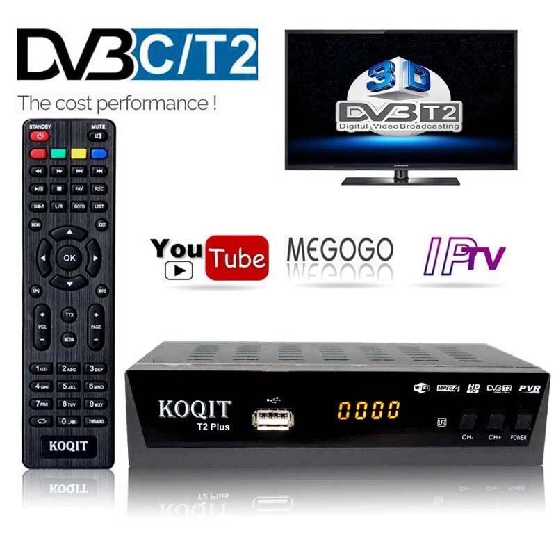 Наземного DVBC цифровой ТВ коробка DVBT2 ТВ-тюнер DVB-C DVB-T2 приемник спутникового DVB T2 IPTV Youtube 1080P HD H.264 инструкцию на русском