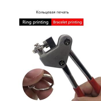 Manual Steel Calipers Plier Stamping Seal Sealing Pliers Jewelry Marking Tool Set Bracelet lifting jewelry type printing pliers