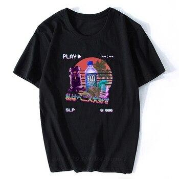 Vaporwave-Camisetas de estilo Retro Vintage para Hombre, ropa de calle, camiseta para...