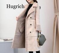 2020 Winter Women Warm Coat Jacket New Fox Fur Coat Luxury Faux Lamb fur coat Faux Fur Coat Overcoat Fake Fox fur Outwear