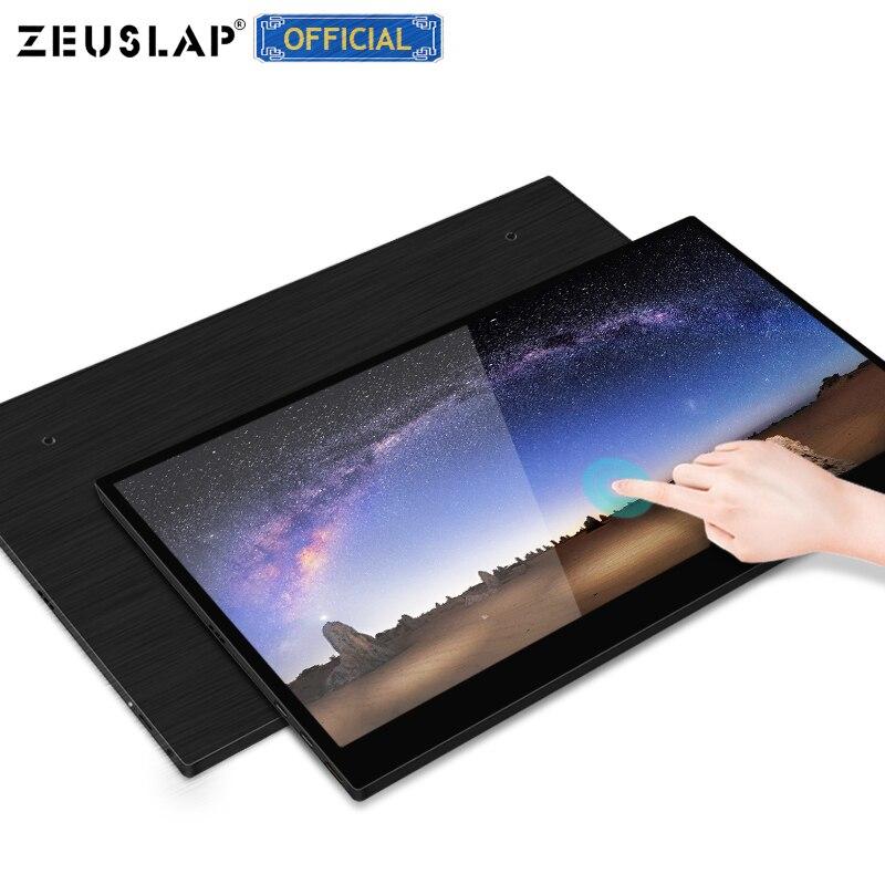 "8.9 ""14"" monitor de toque 1920*1080 p hdr ips tela portátil monitor para ps4, interruptor, xbox, pc, samsung 9 s, huawei p30, macbook pro"