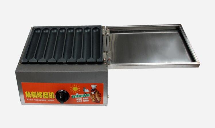 máquina de waffle salsicha muffin hotdog milho