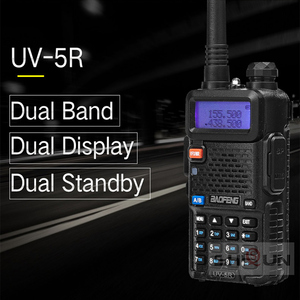 Image 3 - Facultatif 5W 8W Baofeng UV 5R Talkie walkie 10 km Baofeng uv5r talkie walkie chasse Radio uv 5r Baofeng UV 9R UV 82 UV 8HX UV XR