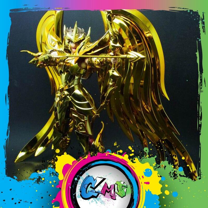 CMT IN STOCK GreatToys EX Sagittarius Aiolos Saint Seiya Metal Armor Myth Cloth Gold Ex Action Figure