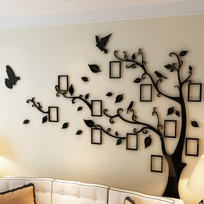 Photo Frame Acrylic Wall Stickers
