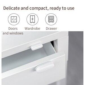 Image 4 - Датчик окон и дверей Xiaomi, беспроводной выключатель для умного дома, система сигнализации Zigbee, беспроводное соединение с хаб Mijia Mi Gateway 3