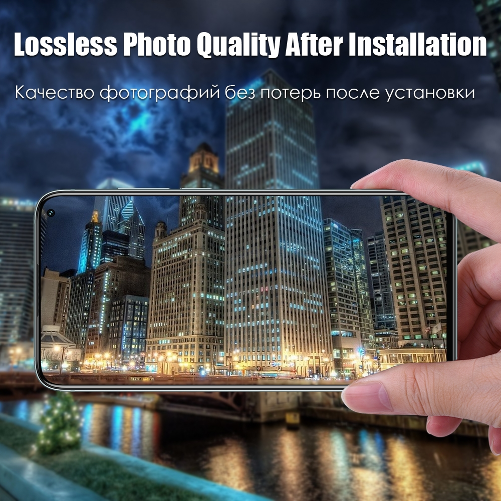 Back Camera Lens Clear Tempered Glass For One Plus Screen Protector 5