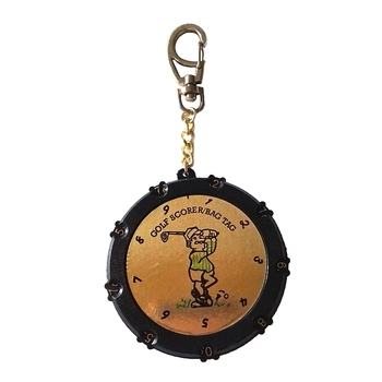 Quality 18 Hole Golf Score Counter Plastic Golf Score Counter Score Counter Keychain фото