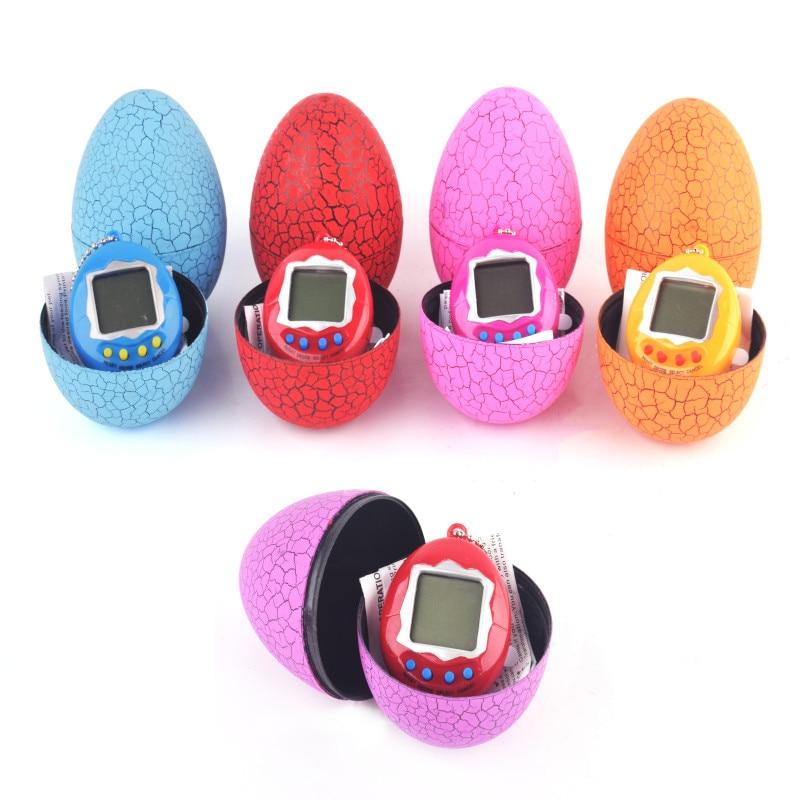 Тамагочи электронные игрушки подарочные брелки на Яйца динозавра животные игрушки подарок образовательные забавные 90S Ностальгический ви...
