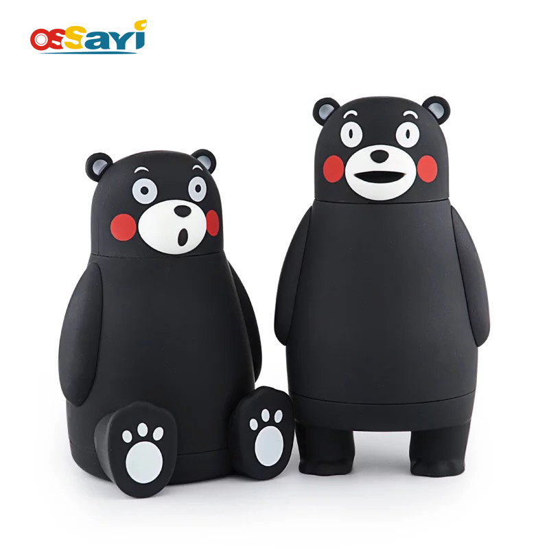 280ml Cartoon Kumamon Bear Vacuum Cup Stainless Steel Thermo Mug Insulated Vacuum Flasks Thermoses Travel Drink Water Bottle-in Vacuum Flasks & Thermoses from Home & Garden on AliExpress