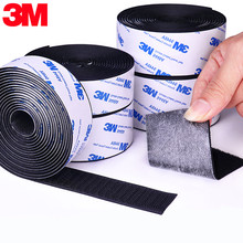 1 meter/pairs forte autoadesivo gancho e laço prendedor fita adesivo de velcros de náilon adesivo com cola para diy 20/25/30/38/50mm