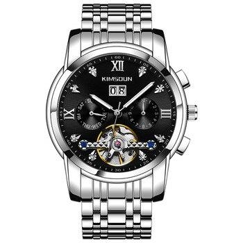 KIMSDUN Diamond Tourbillon Hollow Automatic Mechanical Watch Men's Watch Waterproof Men's Watch Hot
