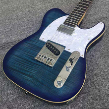 TL GUITARS 21F /22F High Quality Costom Electric Guitar Shop Blue Color Body China Goods For Beginner