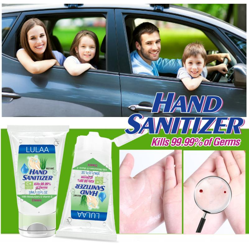 Alcohol-free Hand Sanitizing Gel Kills 99.99% Germs Disinfection Gel Portable Personal Hygiene Cleaning Supplies TSLM2