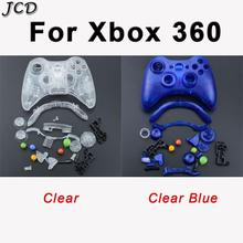 JCD Portable Wireless Bluetooth Game Controller Shell Case Cover Housing +Button Pad Case For XBOX 360