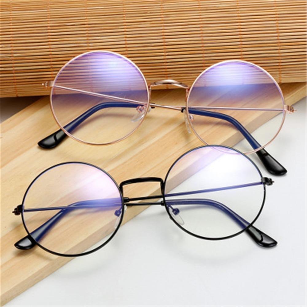 Ультра-светильник, металлический анти-синий светильник, очки для женщин и мужчин, винтажные круглые очки, защита глаз, синий луч, блокировка,...