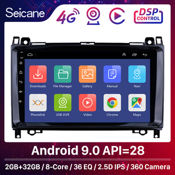 Seicane Android 9.0 8-core Car Multimedia Player GPS Stereo For Mercedes Benz B W245 B150/Sprinter 211 CDI 309/A Class W169 A150 image