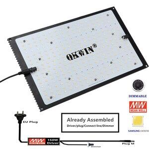 Image 2 - Предварительная продажа 120 Вт 240 Вт светодиодная световая доска Samsung LM301B QB, встроенная с 3000K 5000K 660nm IR полный спектр DIY MW драйвер