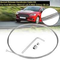 Neue Auto Schnappte Motorhaube Release Handbremse Kabel Kit Für Ford für Mondeo 4 MK4 2007 2014/S MAX für galaxy 2006 2014 Zubehör-in Handbremse Schalter aus Kraftfahrzeuge und Motorräder bei