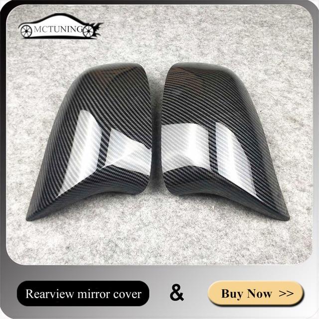 זוג אחד Rearview מירור כיסוי עבור b mw X3 F25 G01 X4 F26 G02 X5 E70 F15 G05 X6 e71 F16 G06 ABS מראה כובעי להחליף את המקורי