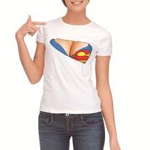 Women Casual Tshirt Short Sleeve O Neck Loose Tshirt 2019 Summer Women Tee Shirt Tops Superman 3D Print T Shirt