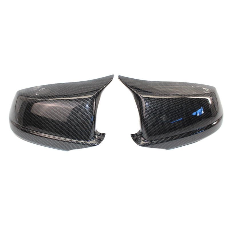 Side Mirror Cover For BMW F10 M5 2012-2017 1 Pair Double-sided Tape add on