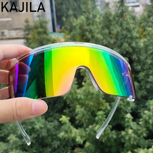 Sports Sunglasses Men 2020 Luxury Brand Windproof Oversized Rectangle Sun Glasses For Women Driving Goggles Gafas De Sol Hombre