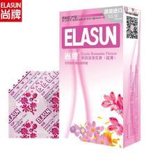 Elasun 12 sztuk Jasmine zapach kwiat smak błyszczący prezerwatywy smarowane prezerwatywy prezerwatywy z naturalnego lateksu prezerwatywy dla mężczyzn Sex prezerwatywy tanie tanio Chin kontynentalnych 12 pcs box Normalne Latex Gumy 52mm ± 2mm